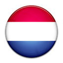 flag, Country, netherlands Black icon
