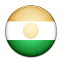 flag, Niger, Country Black icon