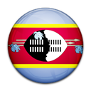 flag, Country, Swaziland Black icon