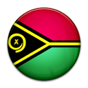 Country, flag, Vanuatu Black icon