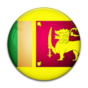 Country, flag, sri, Lanka Black icon