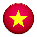 flag, Country, Vietnam Crimson icon