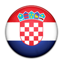 Croatia, flag, Country Black icon