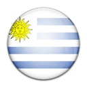 flag, Uruguay, Country Black icon