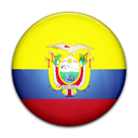 Country, flag, Ecuador Yellow icon