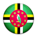 flag, Country, Dominica Black icon