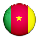 Country, Cameroon, flag Crimson icon