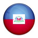 Haiti, Country, flag Black icon