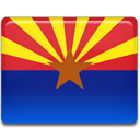 Arizona, flag MidnightBlue icon