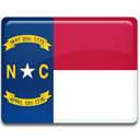 north, Carolina, flag MidnightBlue icon