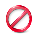 restricted Black icon
