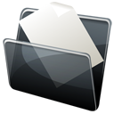 File, paper, Dock, Folder, document, Hp DimGray icon