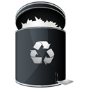 Full, recycle, Dock, Hp DarkSlateGray icon