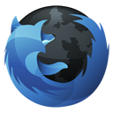 Browser, Firefox, Dock, Hp SteelBlue icon