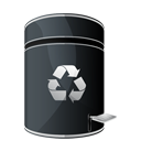 Blank, Dock, Empty, recycle, Hp DarkSlateGray icon
