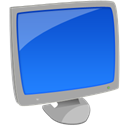 Computer, my computer RoyalBlue icon