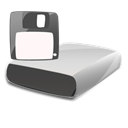 Disk, disc, save, Floppy Black icon
