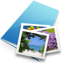 image, picture, photo, pic SkyBlue icon