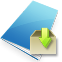 Downloads SkyBlue icon