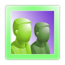 online, group PaleGreen icon