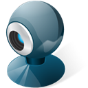webcamera, Vista DarkSlateGray icon