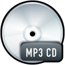Cd, disc, Disk, paper, Mp, document, File, save WhiteSmoke icon