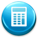 Calc, calculator, Business, calculation Black icon