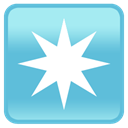 Bright, Favourite, Cell phone, Iphone, smartphone, star, bookmark, mobile phone MediumTurquoise icon