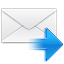 Letter, Message, Replay, envelop, Email, mail WhiteSmoke icon