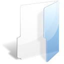 file open Black icon