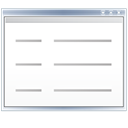 listing, document, list, view, File, Text Black icon