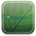 inbox, green, eco DarkSlateGray icon