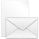 envelop, Message, to, mail, post, post to, Email, Letter WhiteSmoke icon