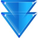downarrow DodgerBlue icon