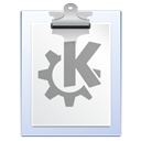 Clipboard, paste, File, document, paper, klipper, Dock WhiteSmoke icon