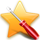 bookmark, toolbar Olive icon