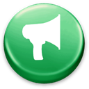 announcement MediumSeaGreen icon