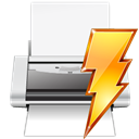 printer, Print, document, File, paper, power, Filequickprint, quick WhiteSmoke icon