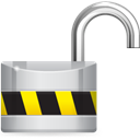 Unlock Black icon