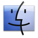 Finder LightSteelBlue icon
