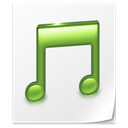 music, File, document, paper WhiteSmoke icon