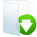 download, descending, light, Decrease, Descend, hint, fall, tip, Energy, Down GhostWhite icon
