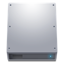 hard disk, Hdd, hard drive DarkGray icon