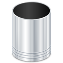 recycle, Bin Black icon