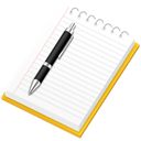 notepad, paper, File, document Black icon