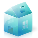 house, Home, Building, homepage SkyBlue icon