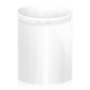 recycle bin, Bin, Trash WhiteSmoke icon