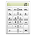 calculator, calculation, Calc Gainsboro icon