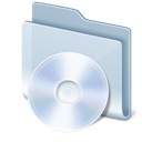 Cd, disc, Folder, save, Disk Gainsboro icon