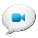 ichat Black icon